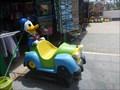 Image for Donald Duck Children's Ride - Costa Teguise, Lanzarote, Canary Isles, Spain
