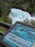 Image for Huka Falls Lookout. near Taupo. North Is. New Zealand.