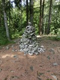 Image for Cairn, Studeny vrch summit, Brdy, Czech Republic