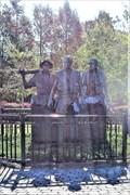 Image for Three Soldiers Monument - Apalachicola, Florida, USA.