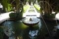 Image for Jardines Bajos del Generalife center fountain (Alhambra) - Granada, Spain