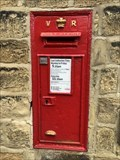 Image for Victorian Pillar Box - Esholt, Shipley, Yorkshire, UK
