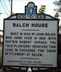 Image for Balch House  -  Beverly, MA