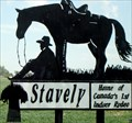 Image for Stavely: Home of Canada's 1st Indoor Rodeo – Stavely, Alberta
