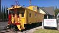Image for Union Pacific Caboose - UP 25037 - Brea, California