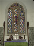 Image for Stained glass windows in St Ordulph's Church, Pillaton, Cornwall