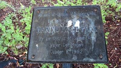 Marine Peace Park Date