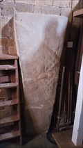 Image for Stone Coffin Lid - All Saints - Naseby, Northamptonshire