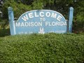 """Image for """"City of the Four Freedoms""""- Madison, Florida"""