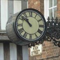 Image for Clock, Funeral Direstors, Tewkesbury, Gloucestershire, England