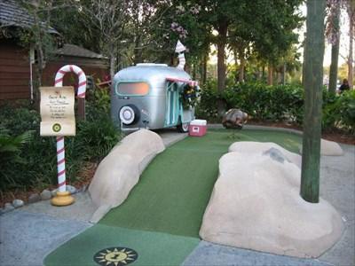 Disney S Winter Summerland Miniature Golf Disney World Fl Miniature Golf On Waymarking Com
