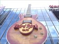 Image for Ginormous Guitar at the Hard Rock Cafe, Las Vegas