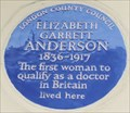 Image for FIRST - Woman to qualify as a doctor in Britain - Upper Berkley Street, London, UK