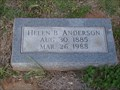 Image for 102 -  Helen B. Anderson - Summit View Cemetery - Guthrie, OK