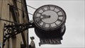 Image for Evans The Jeweller's Clock – Matlock, UK