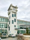 Image for Clocktower Apartments Town Clock - Harrisville, Rhode Island USA