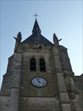 Image for Horloge du clocher de l'Eglise St Germain l'Auxerrois, Dourdan, Essonne, France