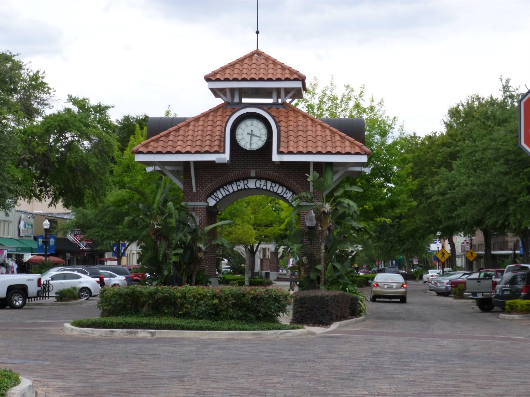 centennial clock winter garden florida