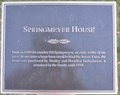 Image for Springmeyer House