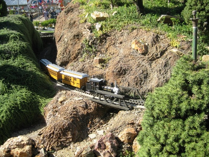 The Fairplex Garden Railroad Pomona CA Model Railroads on
