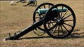 Image for 12-pounder Confederate bronze field howitzers #1569 -  Chickamauga National Battlefield