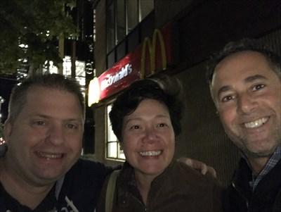 Raine, Jenn and Bryan at Waymark 1