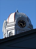 Image for Jeff Davis County Courthouse Tower Clock - Fort Davis, TX