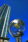 Image for International Village Globe — Vancouver, BC