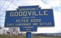 Image for Blue Plaque: Goodville