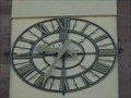 Image for Clock at St. Mauritius (Ebersmunster) - Alsace / France