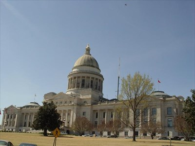 This photo was taken from the Northeast corner of Capitol Street