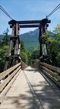 Image for Baring Wooden Suspension Bridge - Baring Wa