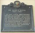 Image for Dr. Jose P. Rizal - Vienna, Austria