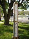 Image for United Presbyterian Church Peace Pole - Corfu, NY
