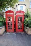 Image for Red Telephone Boxes - Malvern Road, London, UK