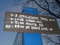 Image for Appalachian Trail Train Station Mileage Marker