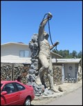 Image for Nude Man Wrestling with Chains, Auburn, California