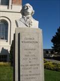 Image for George Washington bust - South San Francisco, CA