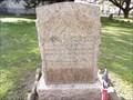 Image for John Austin Wharton - Founders Memorial Park, Houston, TX
