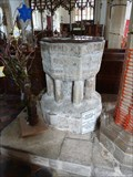 Image for Baptism Font - All Saints - Drinkstone, Suffolk
