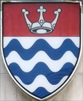 Image for Greater London Council (GLC) Coat-of-Arms - Albert Embankment, London, UK