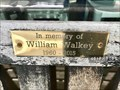 Image for William Walkey dedicated bench - Needham, Massachusetts  USA