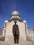 Image for Abraham Lincoln.  Capitol Building.  Springfield, Illinois.
