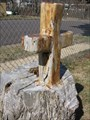 Image for Carved Churchyard Cross - Rosebud, MO