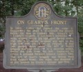 Image for On Geary's Front - GHM 060-42 - Fulton Co., GA