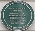 Image for Mary Seacole - George Street, London, UK