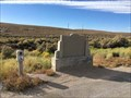 Image for Lincoln Highway Marker - Ruth Jct., Nevada