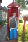 Image for Guard shack soldier - Solvang California
