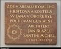 Image for 4158 Santini & Jan Blažej Santini Aichel - Šporkova ulice (Lesser Town of Prague)