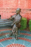 Image for Faulkner Statue, South's Oldest Department Store - Oxford, MS